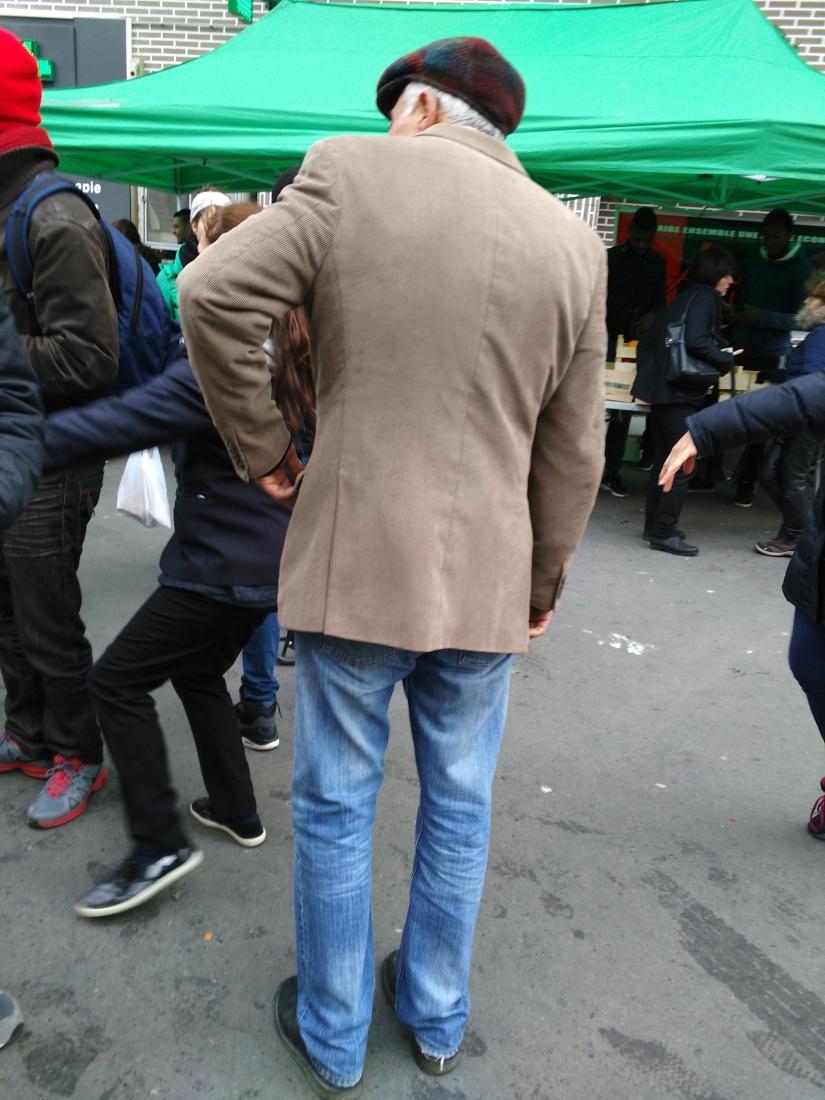 Mémoires de La Table Chorégraphique le 6 février 2016 avec la Bonne Tambouille Place Mac Orlan Porte de La Chapelle Paris18